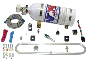 Nitrous Express FMIC Chiller Kit For Subaru Impreza WRX or STI