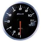 Defi BF EGT Pyrometer Gauge (WHITE)