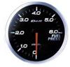 Defi BF Fuel Pressure Gauge (WHITE)