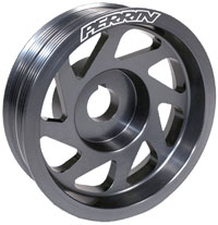 Perrin Crank Pulley for ALL 1993+ Subaru Imprezas(Including 2002-2005 WRX and STi)