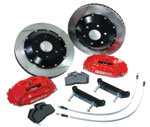 StopTech 2002+ WRX and 2.5 RS, 4 Piston Front Brake Kit