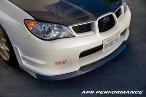 APR Front Air Dam Lip for 06-07 Subaru STi