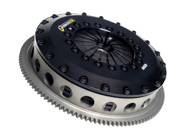 Carbonetic Twin Carbon/Carbon Clutch kit for 6speed STi